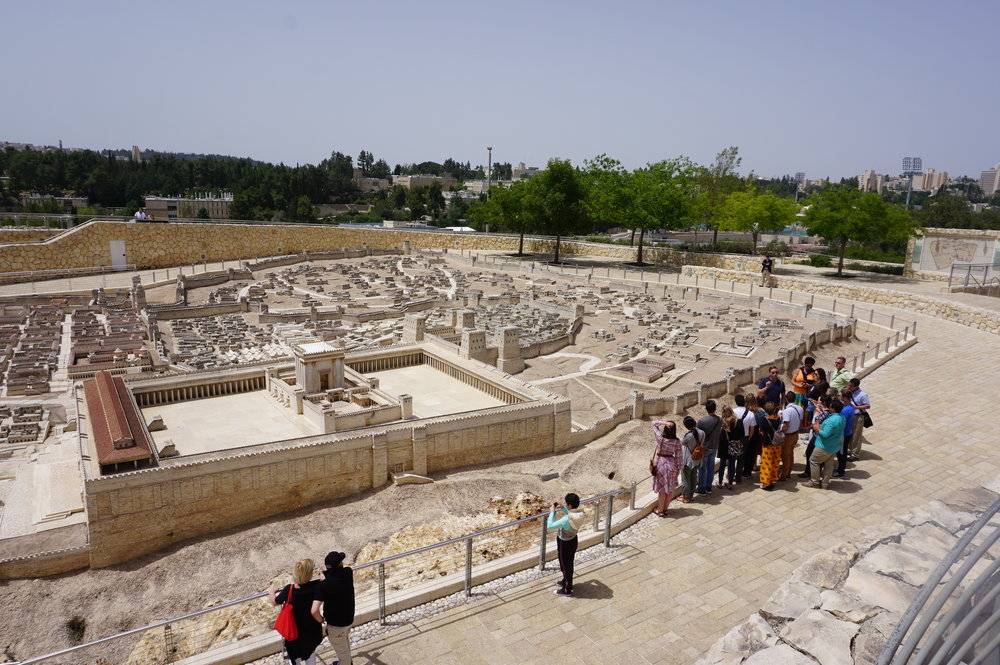 Second Temple Period Model at Israel Museum