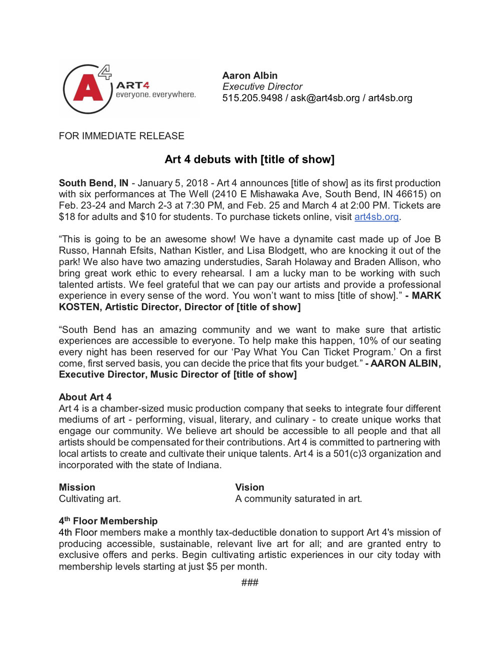 Press Release - Art 4 debuts with [title of show].jpg