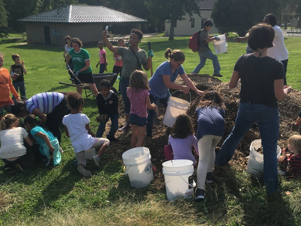 Volunteers made a difference at the Castlewood Park Urban Orchard. Find out how you can get involved in 2018!