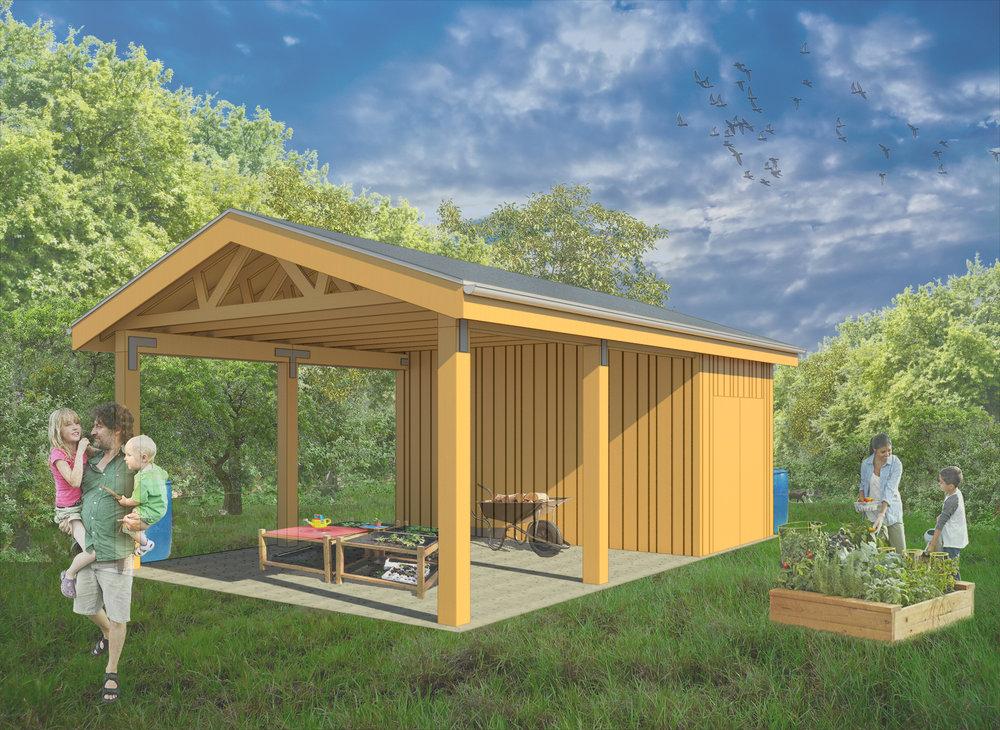 Seedleaf Educational Pavilion at North Farm