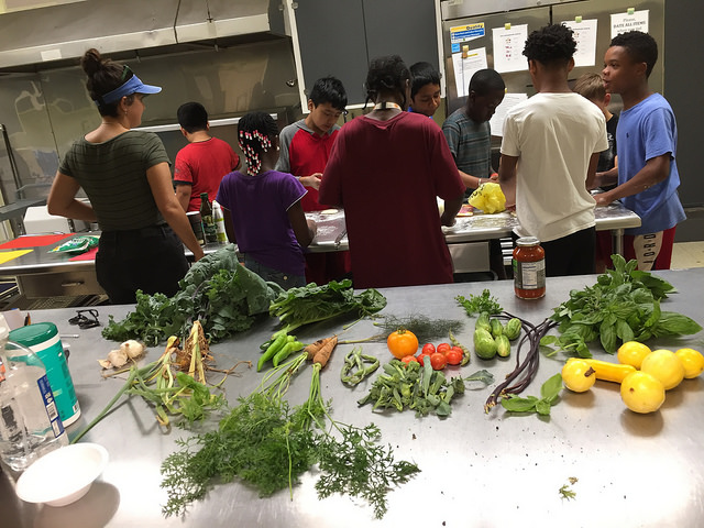 Learning food prep