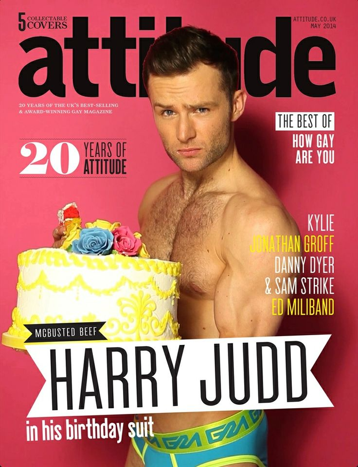 Garcon Model Underwear - Harry Judd - Attitude Magazine