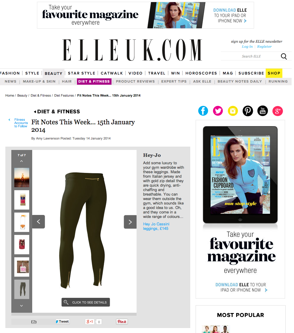 Hey Jo London - ELLEUK.com