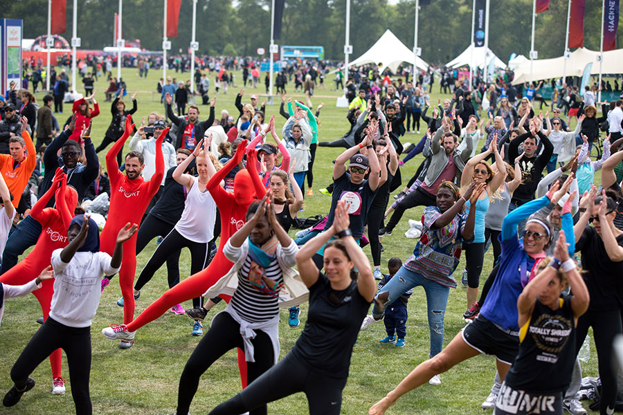virgin sport hackney festival of fitness