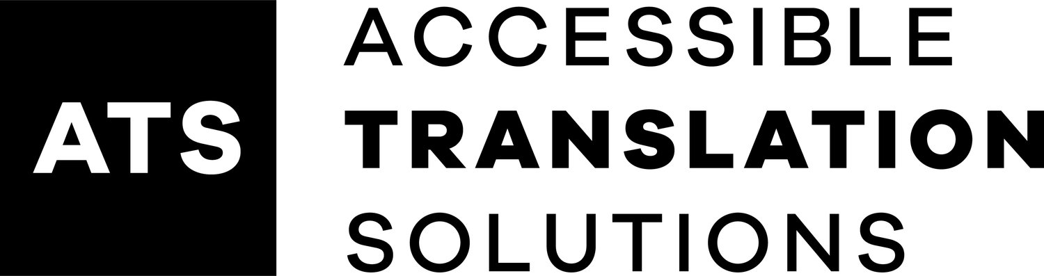Accessible Translation Solutions