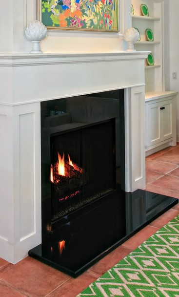 Traditional Gas Fireplace