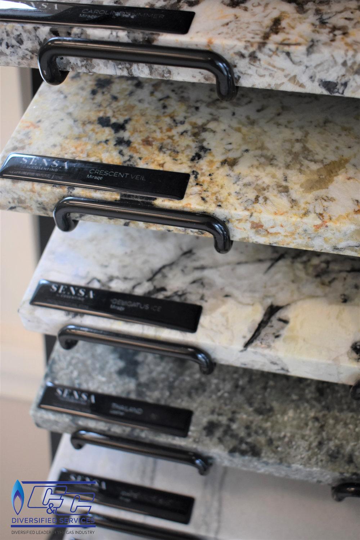 Sensa by Consentino Maintenance-free Granite Samples