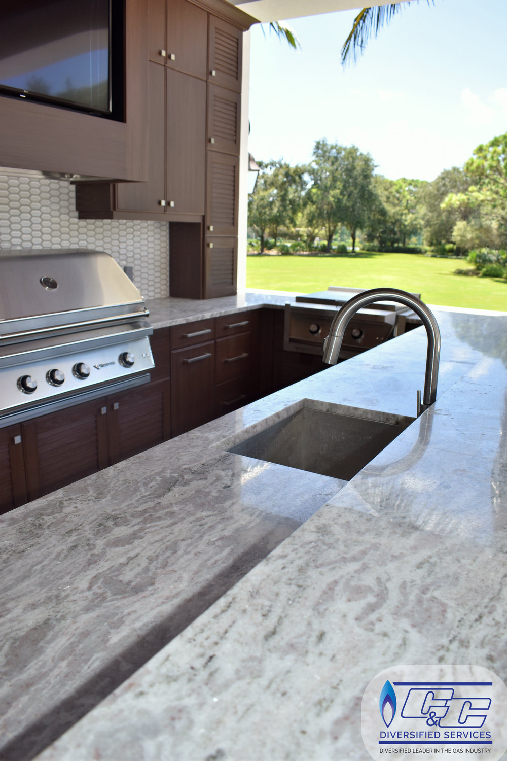 NatureKast Weatherproof Cabinetry - Undermount Stainless Steel Sink
