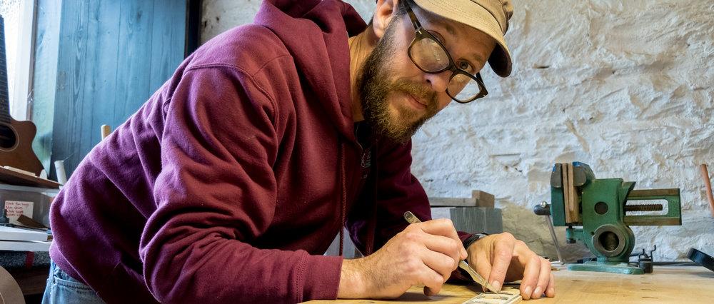 Kit Jon French at work
