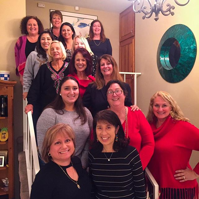 Happy Holidays from the women of PASBA. #pasba #panhellenicalumnae #sisterhoodacrossbadges