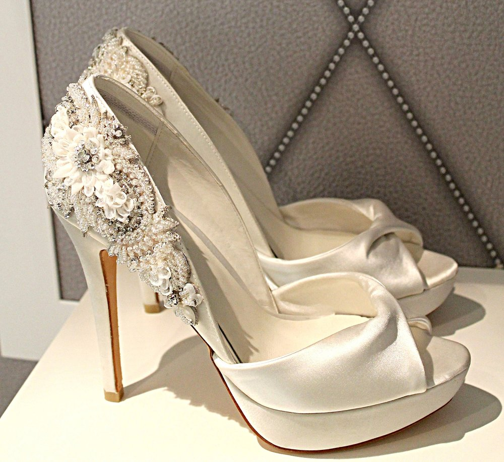 With a selection of beautiful heels to help you achieve the look and feel for your special day