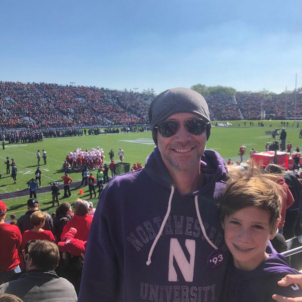 Northwestern Wildcats Game