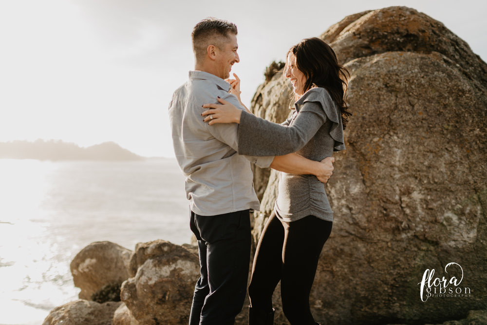 Big sur California Coast proposal photographer