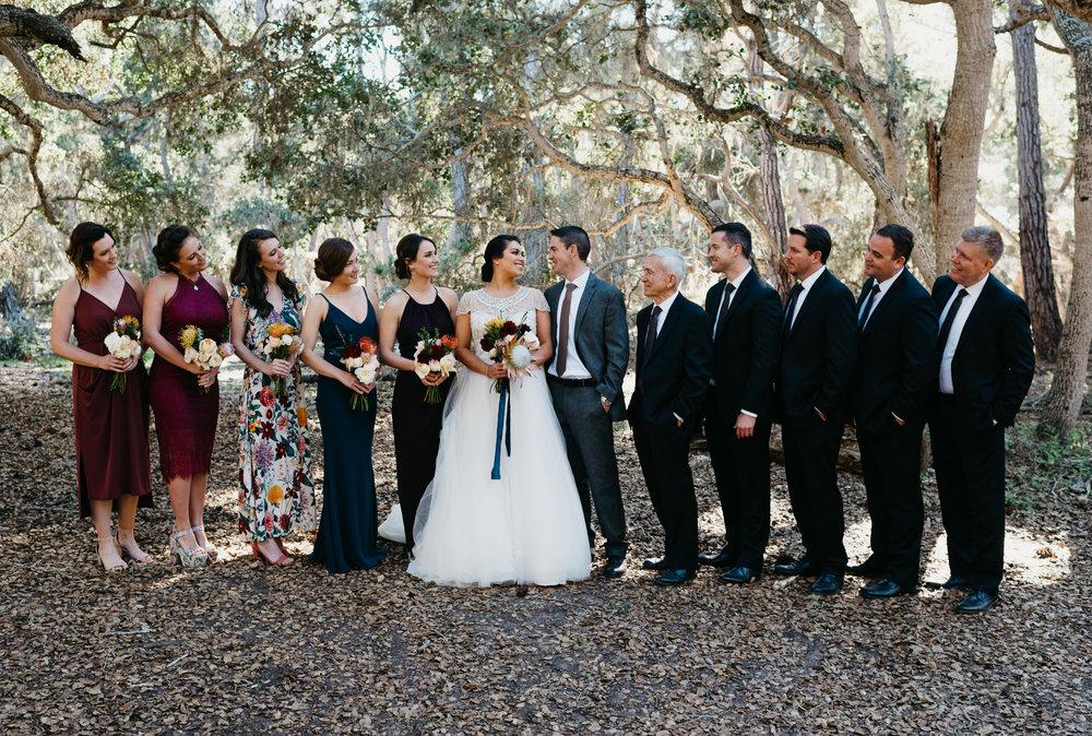 Big sur California Coast adventerous wedding elopment intimate wedding photographer Monterey California