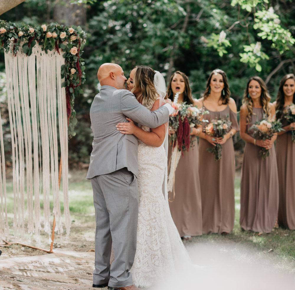 big sur bohemian wedding Big sur California Coast adventerous wedding elopment intimate wedding photographer