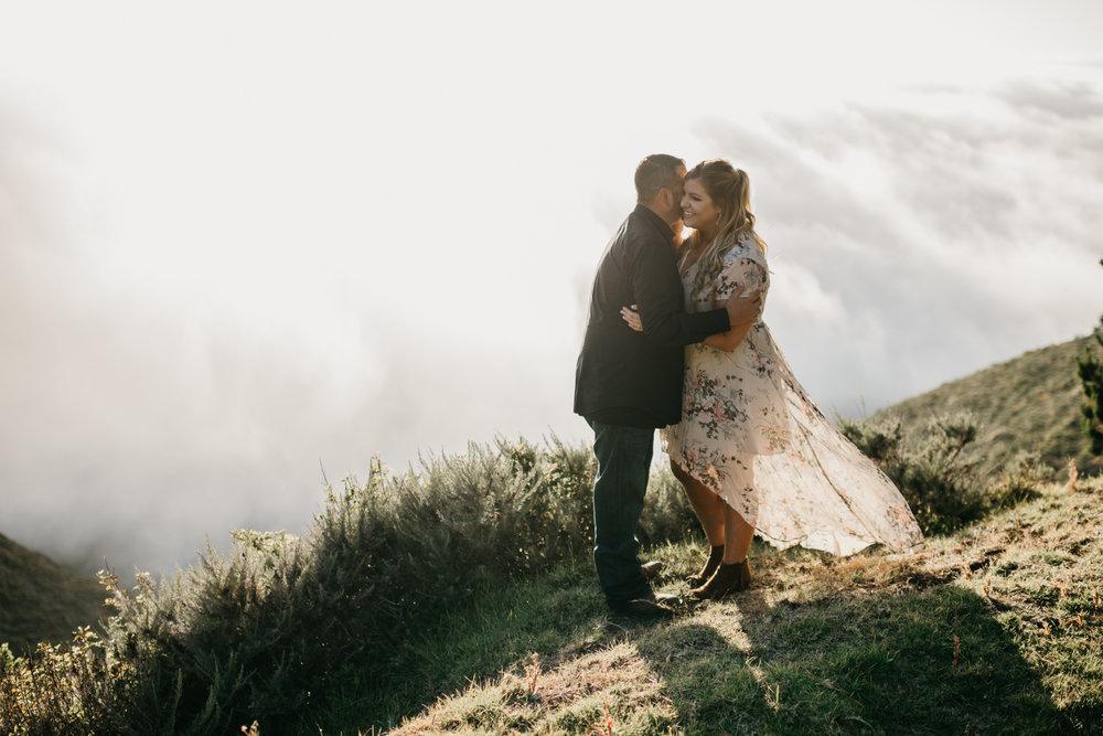 Elopment photographer big sur CA wild