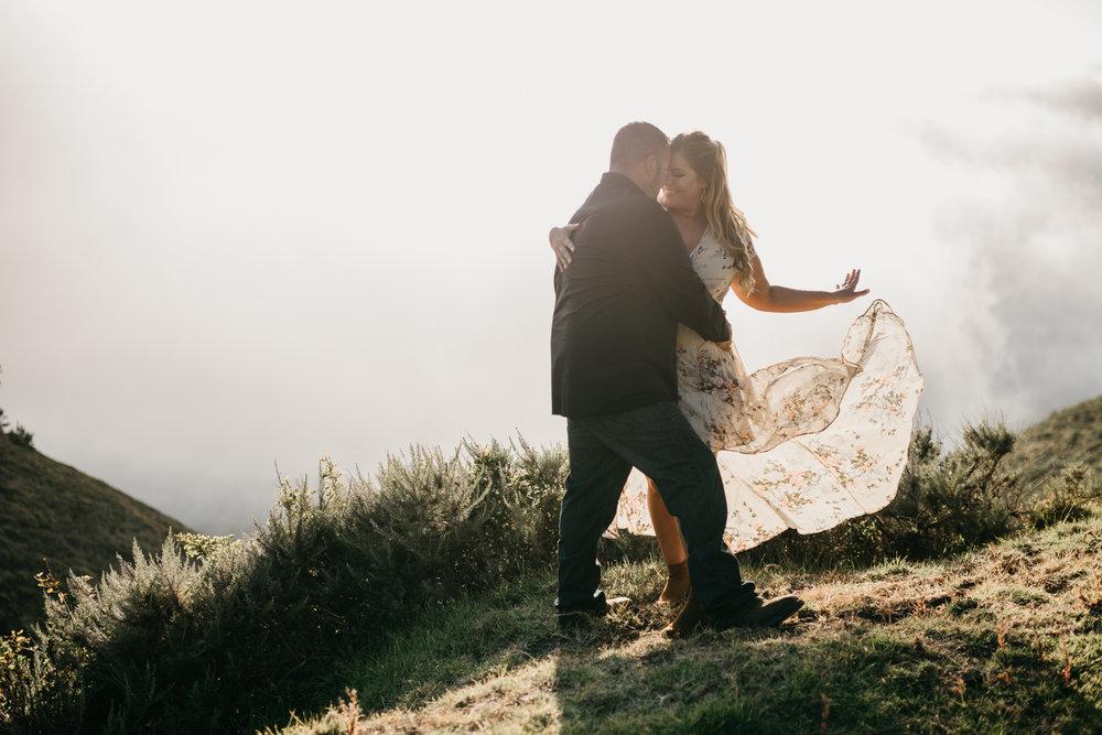 Big Sur california coast wedding photographer
