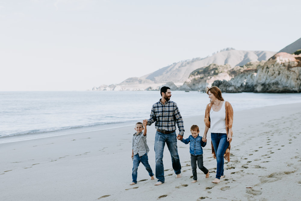 big sur carmel monterey family photographer