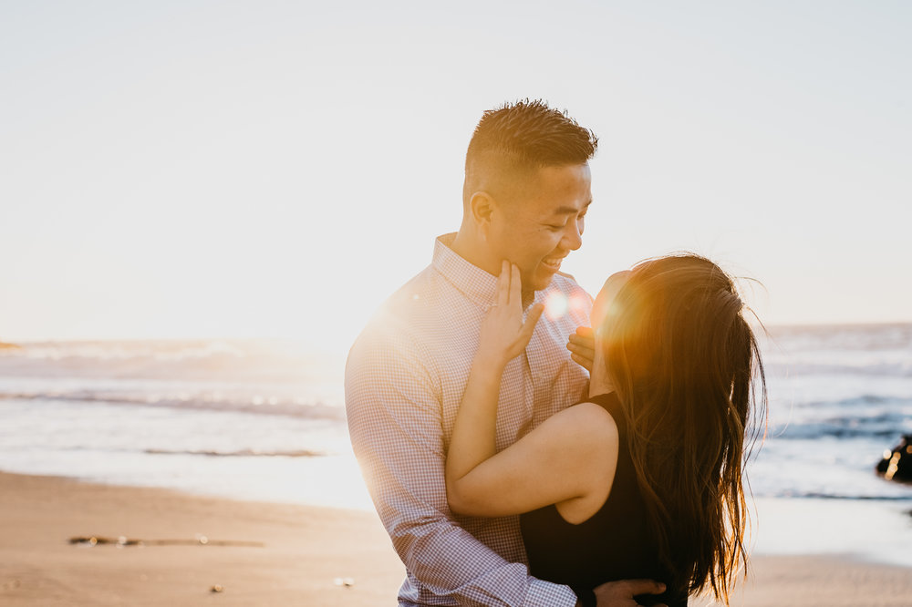 Big Sur adventureous proposal california coast photographer