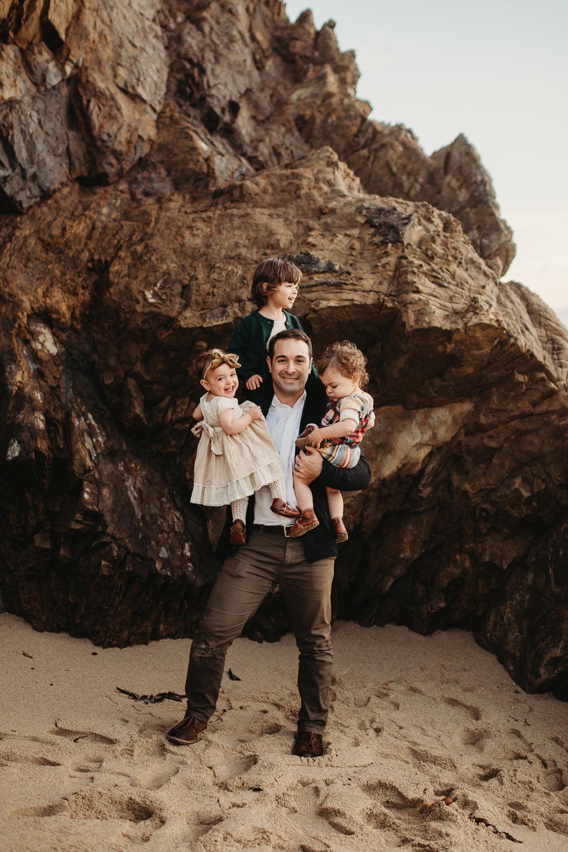 monterey california coast family photographer