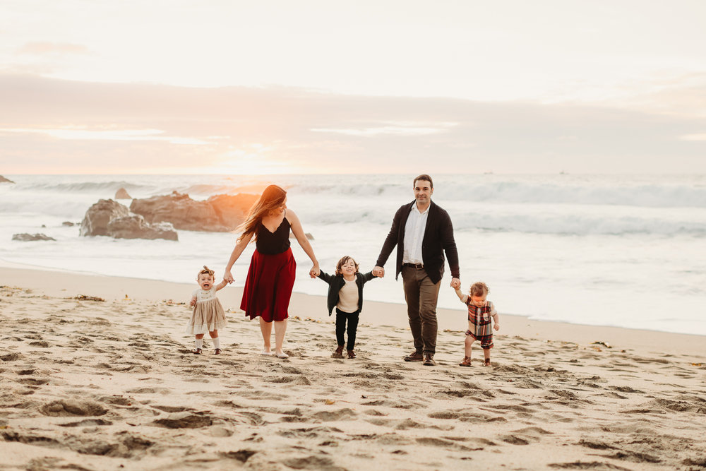 monterey california coast family photographer