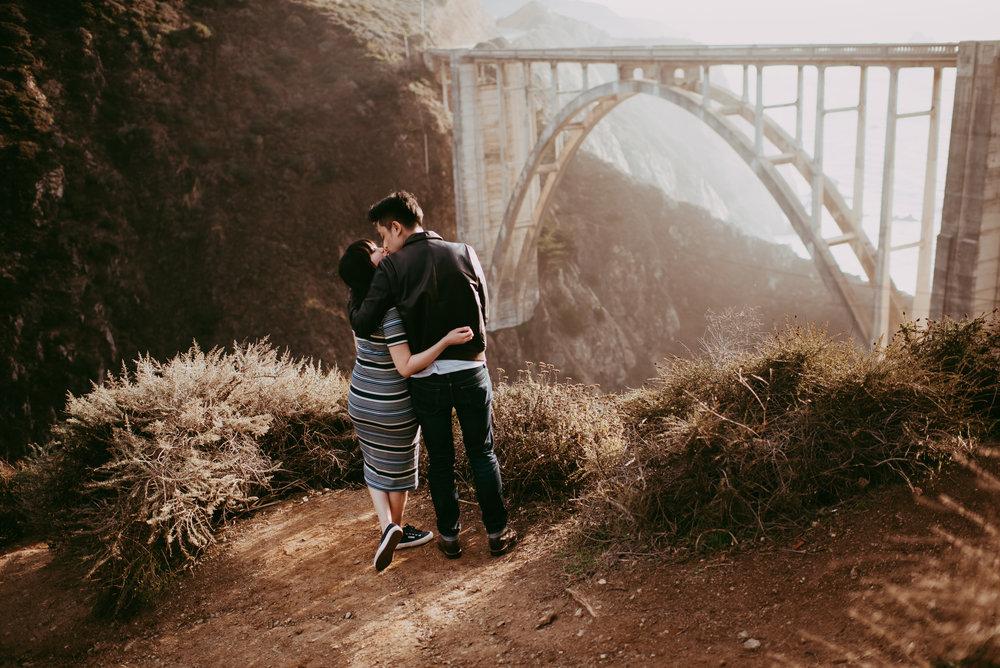 Big Sur adventure wedding photographer