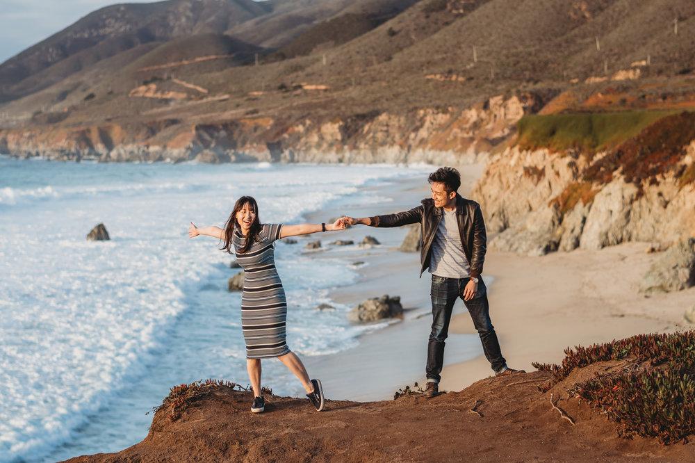 big sur california coast adventure wedding photographer
