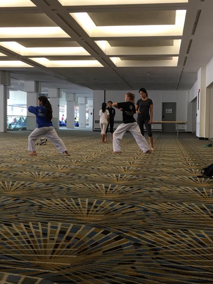 TaeKwonDo Practice