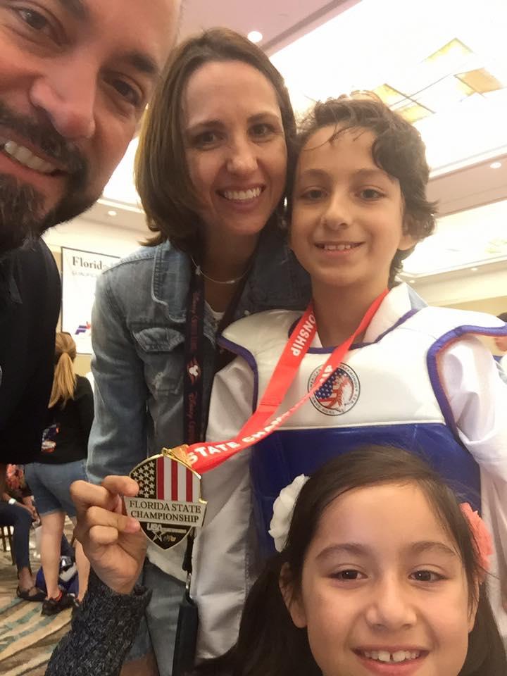 Sparring Silver Medal - Samuel Acosta