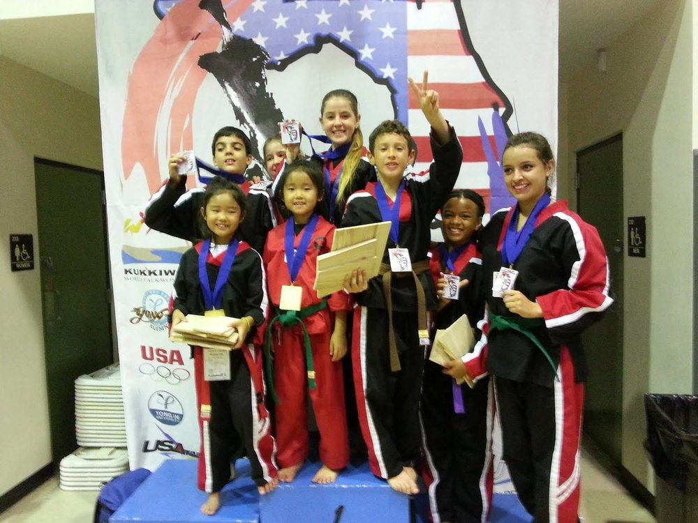 TaeKwonDo Martial Arts Competition