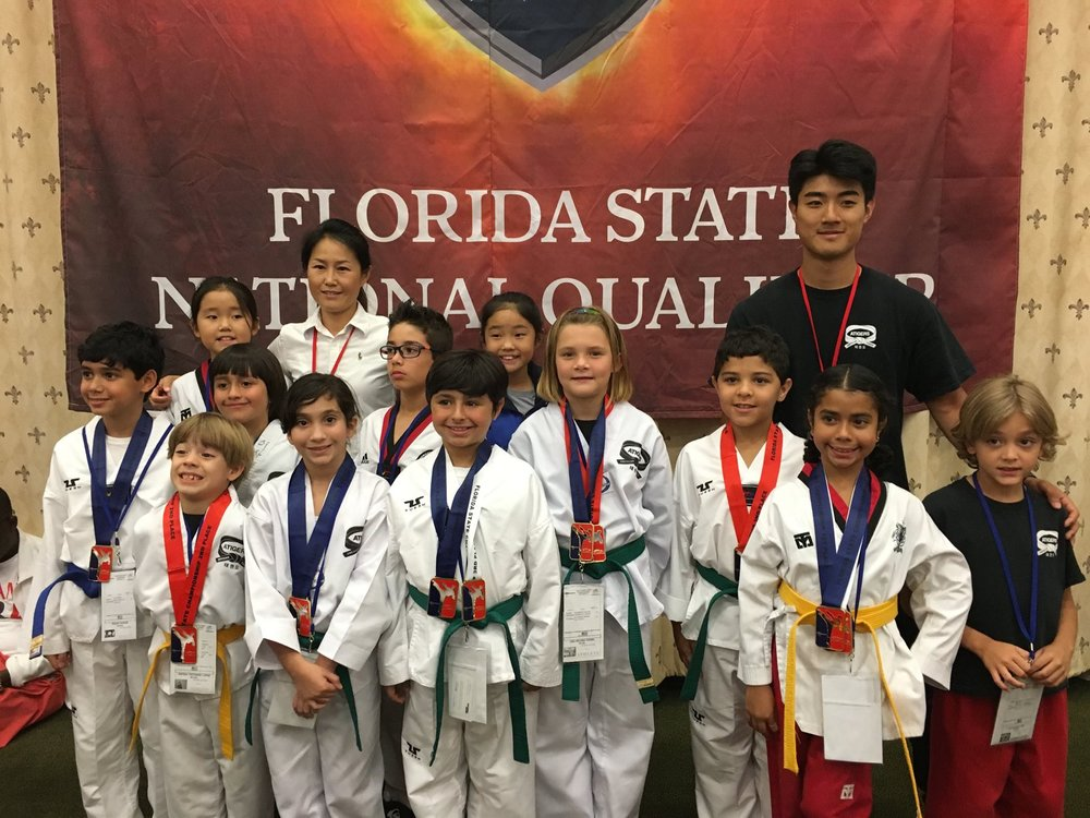 Florida State Tae Kwon Do Competition