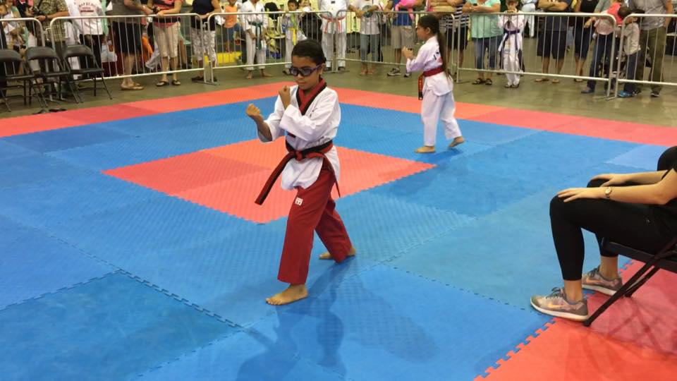 Martial Arts Board Breaking Competition
