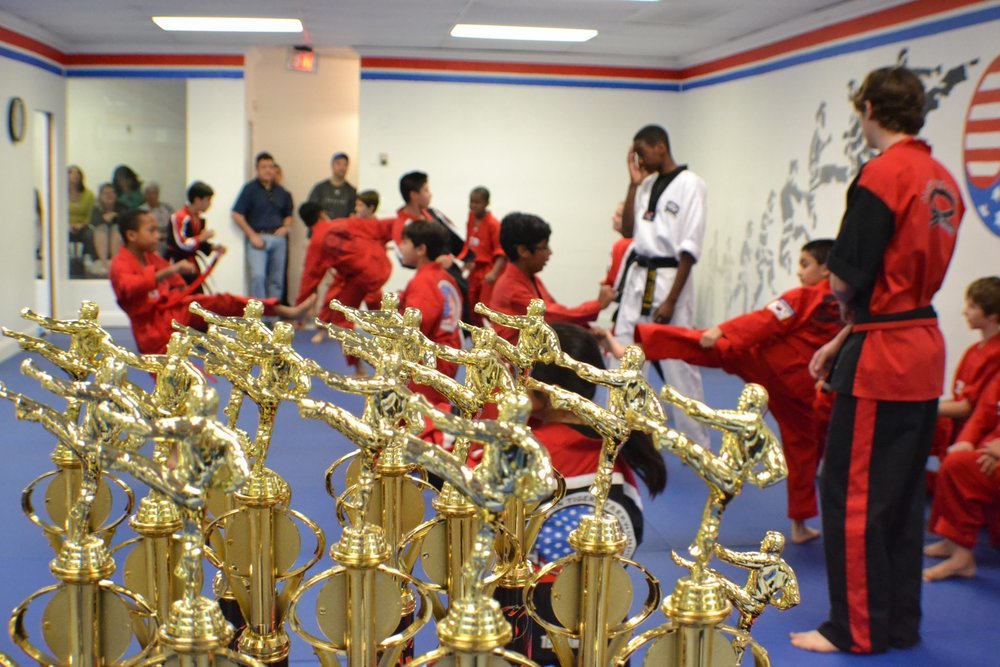 Tae Kwon Do trophies