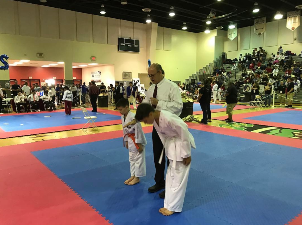 Taekwondo Forms Winter Games 2017