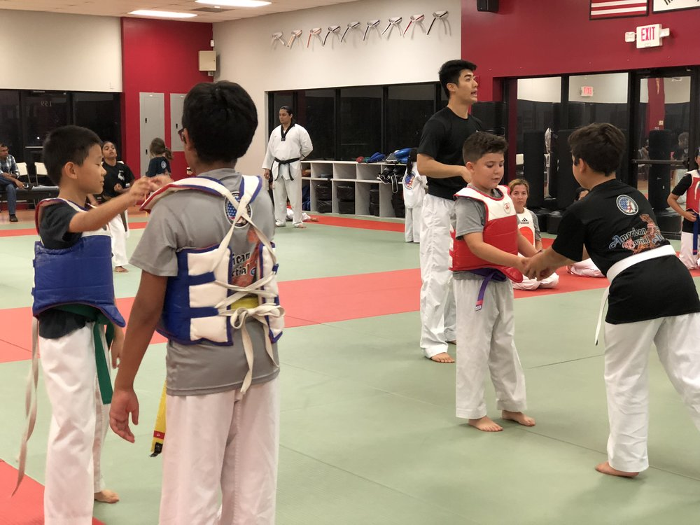 Weston Family Taekwondo Class