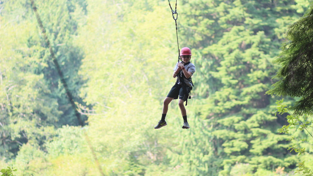 Giant Swing - Camp HamiltonEncourage one another and release your fears on our 60ft. swing over our 80 acre lake.
