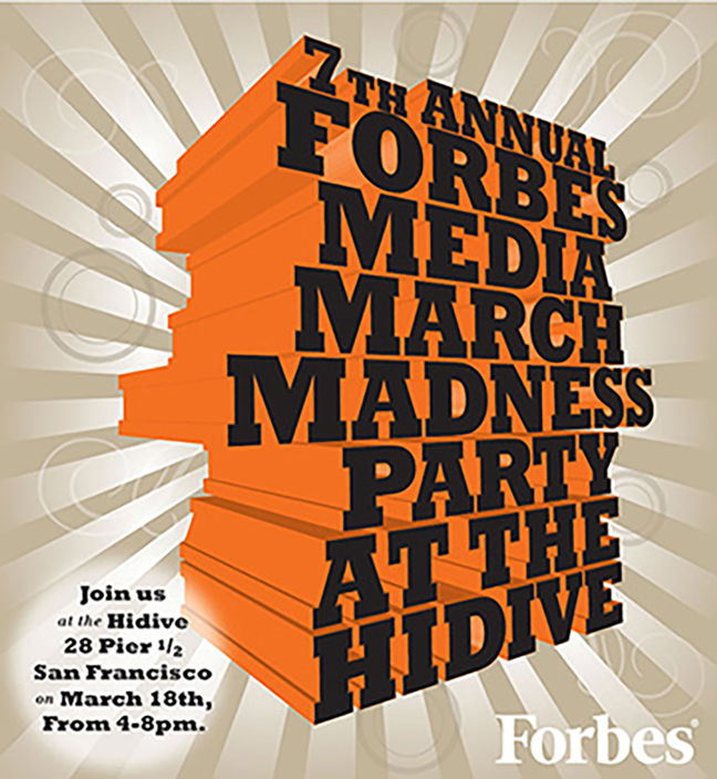 Forbes - Sponsored content, as well as invitations and advertisements for corporate events