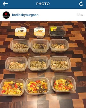 Jason Burgoon's Meal Prep