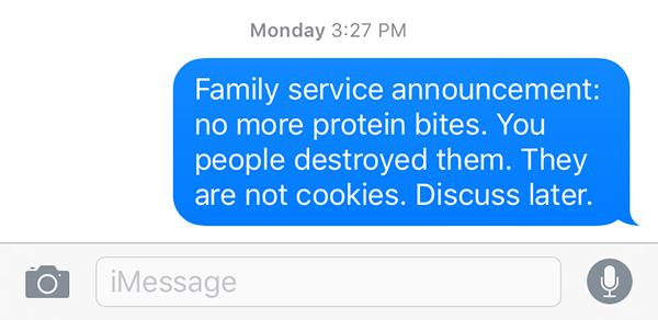 family text