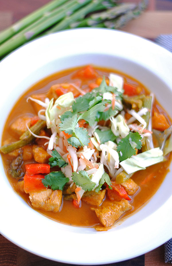 Thai Chicken and Squash Soup