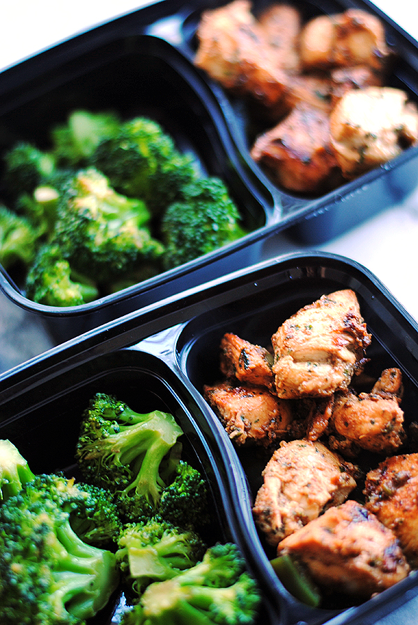 Indian spiced chicken with broccoli