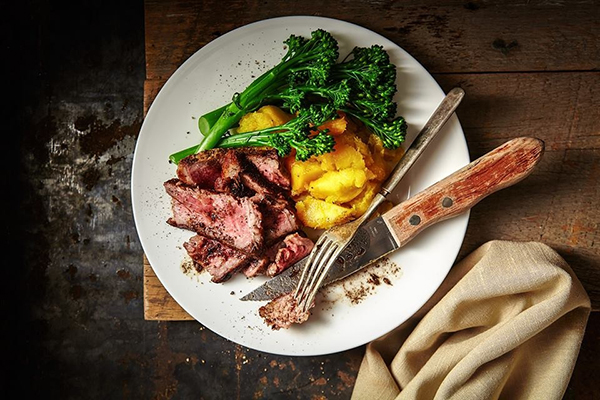 Origin Meals | Steak Squash Broccolini