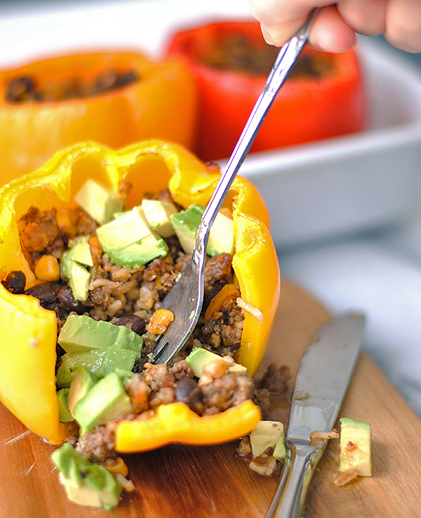 Tiffany's Stuffed Bell Peppers