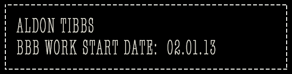 Aldon's work start date
