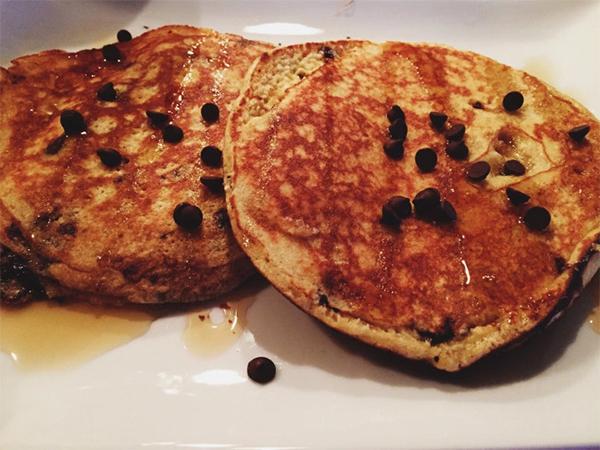 Meg's Vanilla Coconut Protein Pancakes