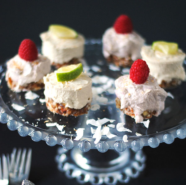 no dairy coconut lime cheesecakes