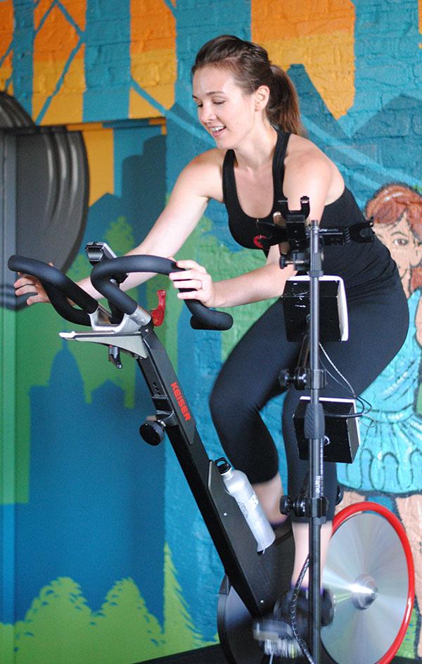 Lindsey at Torque Cycling