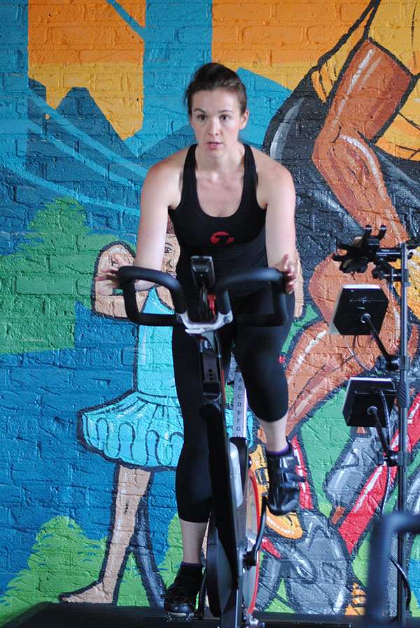 Lindsey cycling