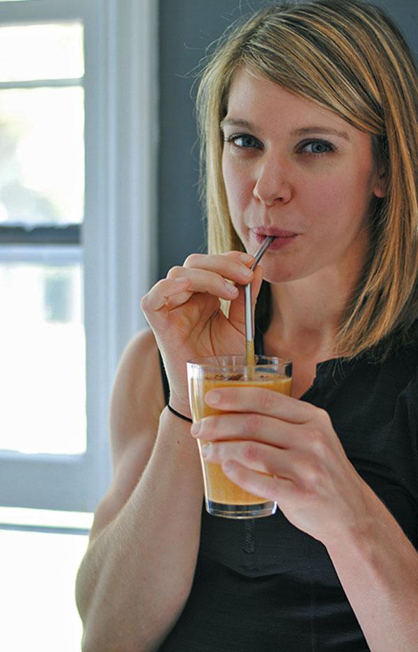 Brianna Bernard's Pumpkin Smoothie
