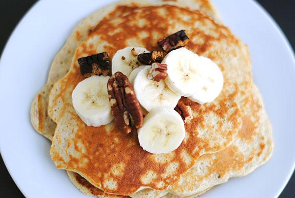 Tiffany's Banana Protein Pancakes